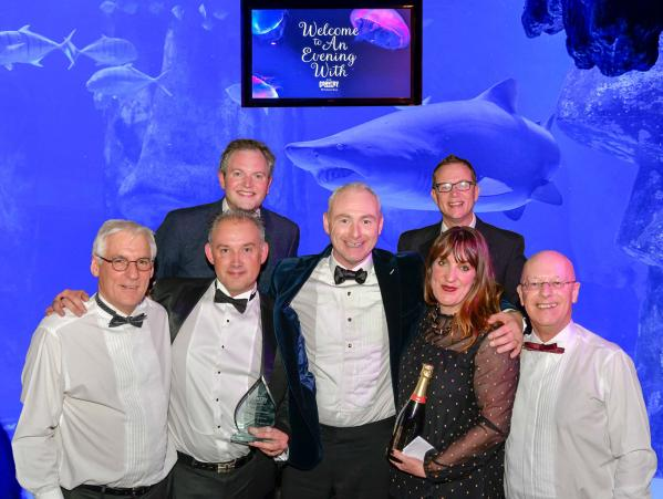 Thomas Ridley win Best Group Support at Member Awards
