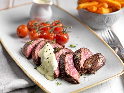 Tender and Tasty Ostrich Steaks