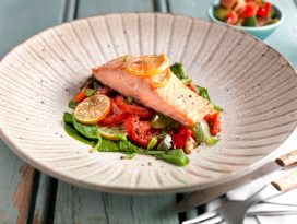 Roasted Salmon Supreme