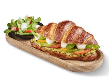 Bridor Pretzel Croissant Italian Style